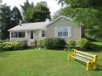 Seaside cottage in Shediac for weekly rental.