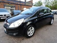Vauxhall Corsa 1.3CDTI 16V ECOFLEX ENERGY 75PS (1 OWNER + 12 MONTH MOT) (black) 2010