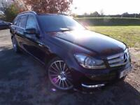 2012 Mercedes Benz C Class C350 CDI BlueEFFICIENCY AMG Sport Plus 5dr Auto Bl...