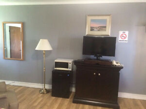 Newly Renovated Motel Rooms Available! Car, RV, & Truck Parking