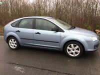 2006 FORD FOCUS 1.6 5 DOOR LOW MILES LONG MOT + PRIVATE PLATE