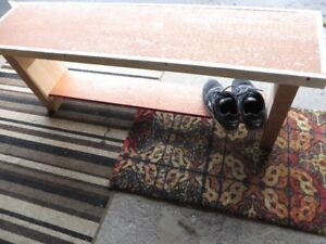 BIG shoe bench