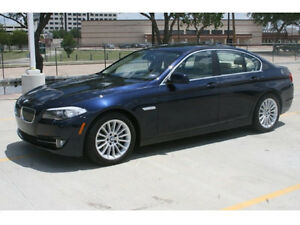 2011 BMW 550i - NAV/DVD - need to sell asap - LOW KMS