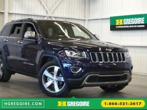 2015 Jeep Grand Cherokee Limited 4WD (cuir-toit-navi-caméra-sona