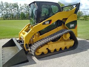 2012 Caterpillar 289C Two Speed Compact Track Loader