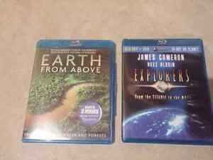 Imax DVDs, 2 BlueRays and Futurama. Edmonton Edmonton Area image 2