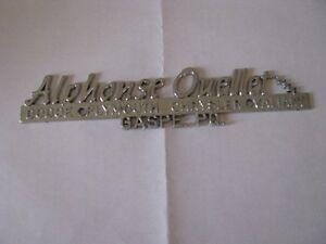 Embleme Pour Mopar   En métal -- ( Dodge )