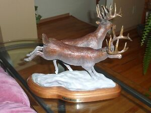 Bronze Sculpure -Twilight Apparitions by Rick Taylor Strathcona County Edmonton Area image 1