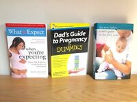 Pregnancy books: what to expect when you're expecting, dad's guide to pregnancy, the new father