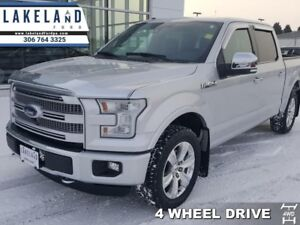 2015 Ford F-150 Platinum  - Navigation -  Leather Seats - $317.9
