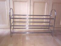 Metal shoe rack
