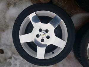 Chevy cobalt ss wheels and tires