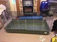 Rabbit indoor furplast 120 cage