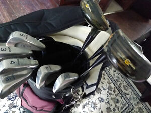 Ladies Lynx Tigress Golf Clubs (and a Golf Bag)