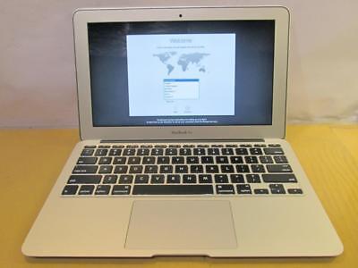 "Apple MacBook Air 11"" Core i5 1.4GHz 4GB RAM 128GB SSD OS X Mavericks A1465 2014"