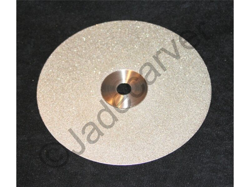 "6"" Diamond Flat Lap Disk 80,120,180, 260, 360, 600, 1200 or 3000 grit"