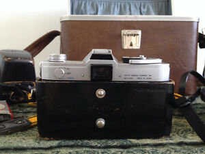 Vintage Canon FX Camera Collection with Custom Leather Bag Cambridge Kitchener Area image 8