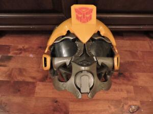Casque de BumbleBee de Transformers parlant
