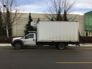 2011 Ford F450 3 ton Reefer with job