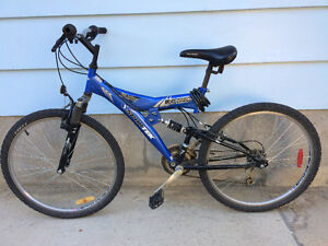 Two mountain bikes $130 both or $70 each. Open to negotiations