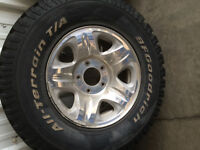 Ford Expedition rims with BF All Terrains