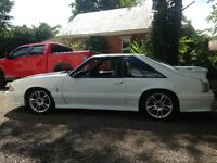 1990  MUSTANG GT COBRA 25 ANNIVERSARY CAR  FOR SALE