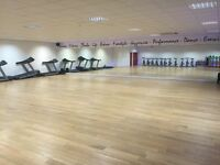 Dance studio to hire