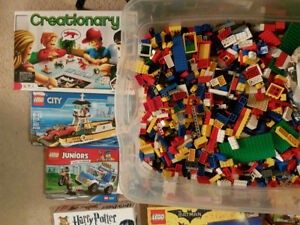 ~15kg (~33 lbs) BULK LEGO + (In)Complete Sets with boxes/manuals