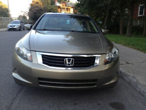 2009 HONDA ACCORD EX AUTOMATIC 87000KM
