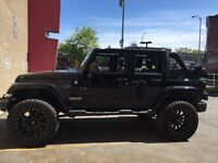"XD rims with Nitto 35"" tires. Jeep!"