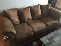 Sofa, Love seat, Coffee Table Two End Tables Lamp