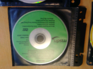 Various Microsoft Program/Server Program Discs