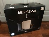 Nespresso Krups U Coffee Machine - Brand New