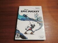"Like New Nintendo Wii ""Epic Mickey"" Game"