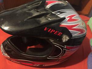 ATV helmet