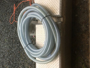 """Roughly 50' of 1-1/4"""" Braided Hose Food Grade"""