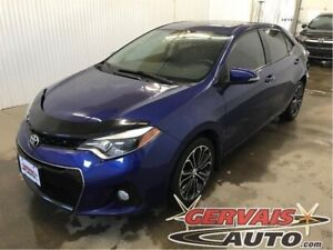 Toyota Corolla S Toit Ouvrant Cuir/Tissus MAGS Bluetooth 2015