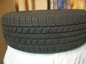 Snow tires mounted on Rims for Sale
