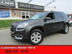 2014 GMC Acadia SLE1  REAR CAMERA, BLUETOOTH, PARKING SENSORS!