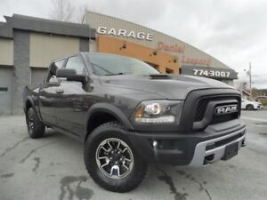 Dodge Ram 1500 ** REBEL ** CREW, 4 X 4, TOIT, MAG  2015