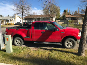2005 Ford F-150 Flareside XLT supercab 4X4 Pickup Truck