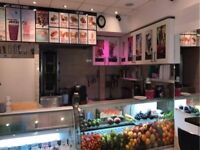 Turn-Key A1 Fully Equipped Cafe/Juice In A Highly Desirable Location In Edgware Road - Rent Reduced!
