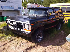 1979 Ford Bronco (asking $15000.00 ONO)