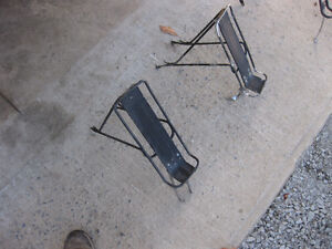 For sale are  several  bicycle pannier racks