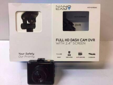 NANO CAM PLUS HD DASH CAM WITH BOX