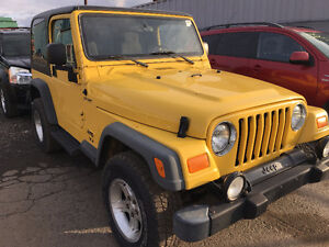 2004 Jeep TJ Sport just arrived for sale at Pic N Save!