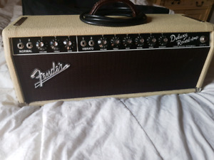 Fender 65 Deluxe Reissue Head Ltd edition