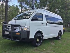 Bus 4x4 Conversion Of New Toyota Commuter