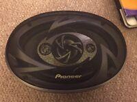 """Pioneer speakers 6""""x9"""""""
