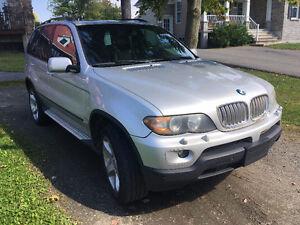2006 BMW X5 Éxecutif 4.4l  ** Négociable doit partir **